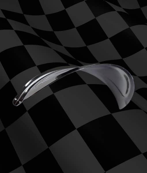 Chrome-Headlight-Visor