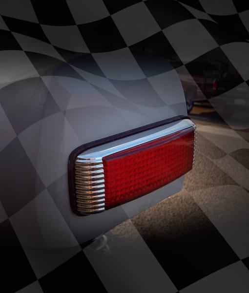 L-E-D-Finned-Rectangle-Tail-Light