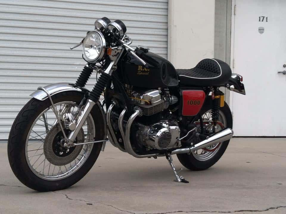 Cafe Racer 1970 Cb1000 Russ Collins Special
