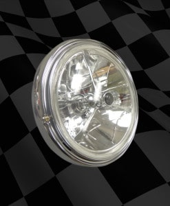 HEADLIGHT-ASSEMBLY-TRIM-KIT-SOHC-WITH-OPTIONAL-TRIBAR-7-HEADLIGHT