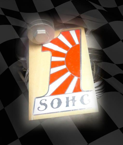SOHC-#1-ALLOY-EMBLEM-RISING-SUN