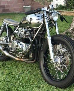 CB550 exhaust Yohi 4