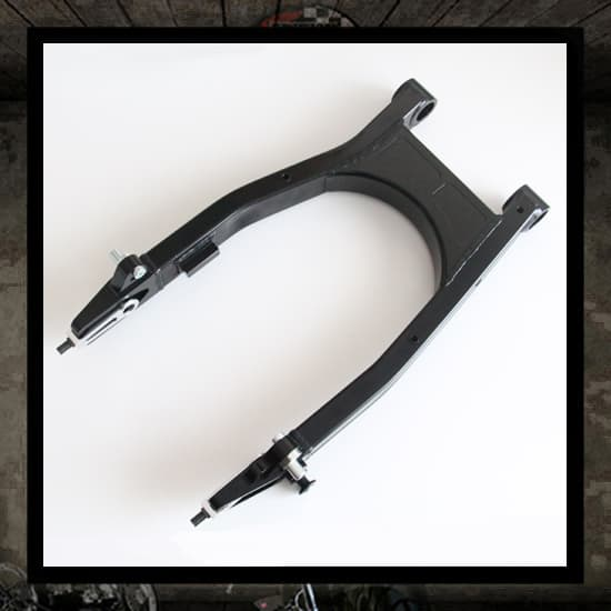 British aluminum swingarm