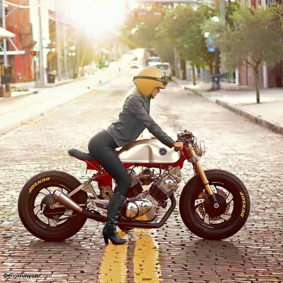 We Want To See More Girls On Motorcycles Carpy S Cafe Racers