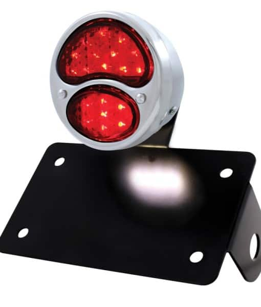 tail light assembly round