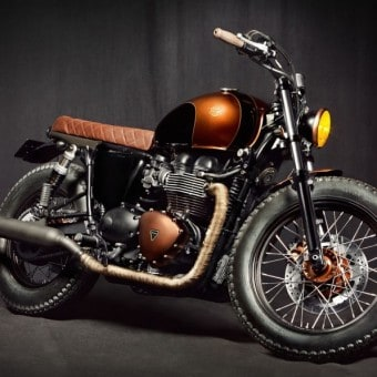 Triumph-Bonneville-Custom-By-Ton-Up-Garage-Front-Right-Three-Quarters