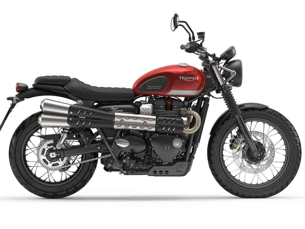 New Triumph Street Scrambler Carpys Cafe Racers