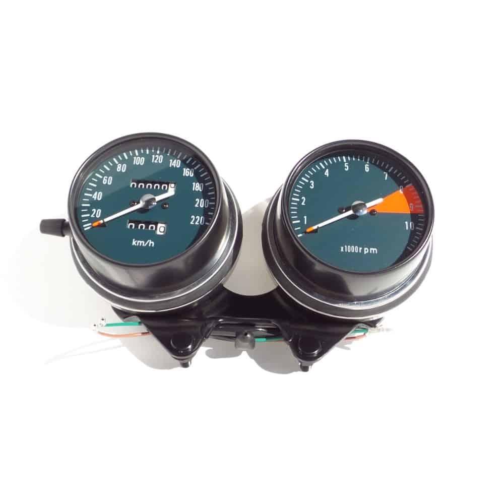 gauges kmh