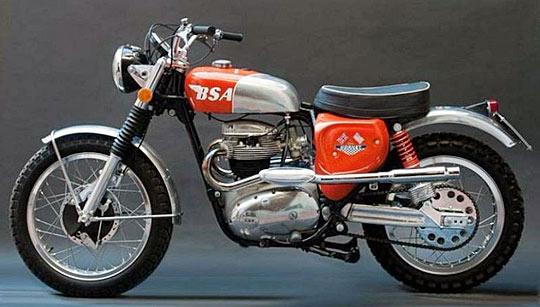 BSA-Motorcyle