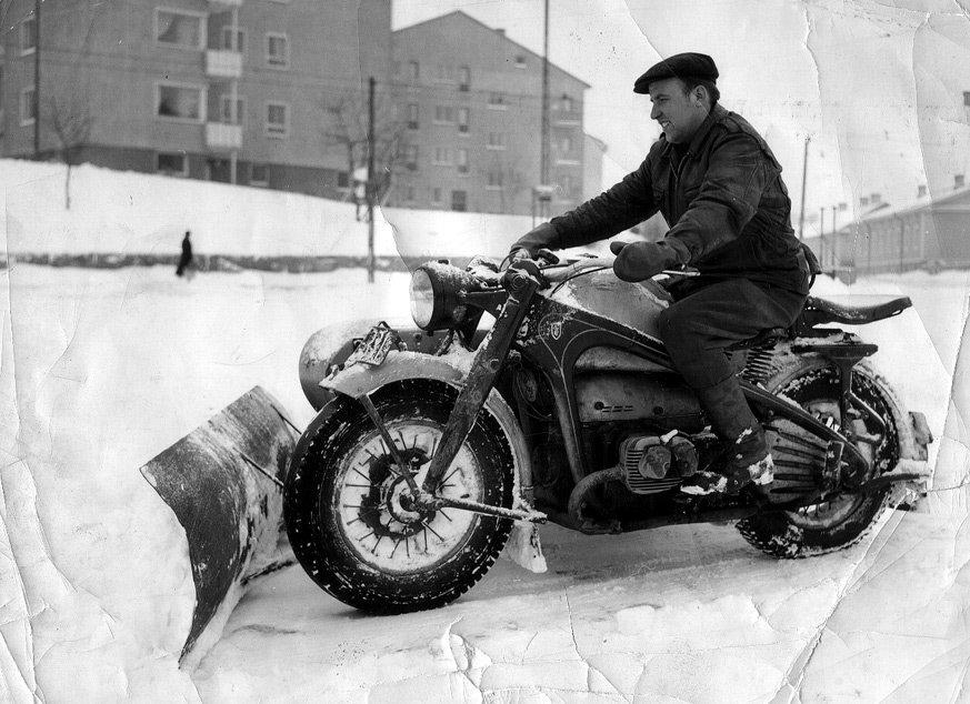 Zündapp snow plow