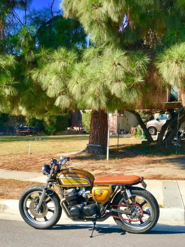 Custom Exhaust – Carpy's Cafe Racers