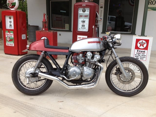 Exhaust 4 into 1 CB750 DOHC Yoshimura Style 1979-1983 Models – Carpy's Cafe Racers
