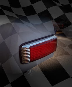 L-E-D-Finned-Rectangle-Tail-Light