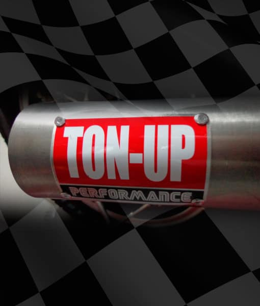 TON-UP-PERFORMANCE-EXHAUST-BADGE