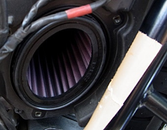 Air Filter K Amp N Triumph Carpy S Cafe Racers
