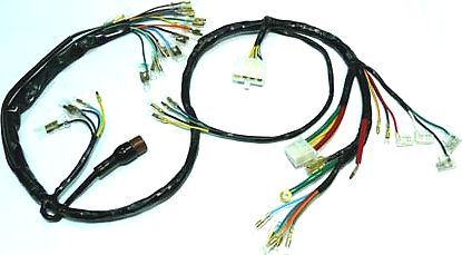 honda cb750 1970 1971 wire harness sohc carpy s cafe racers rh carpyscaferacers com honda wire harness strap clips honda wire harness diagram