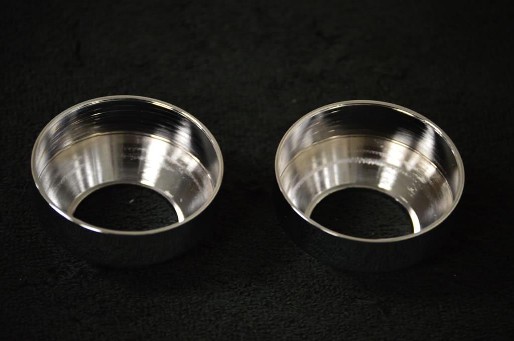 chrome fork caps 4
