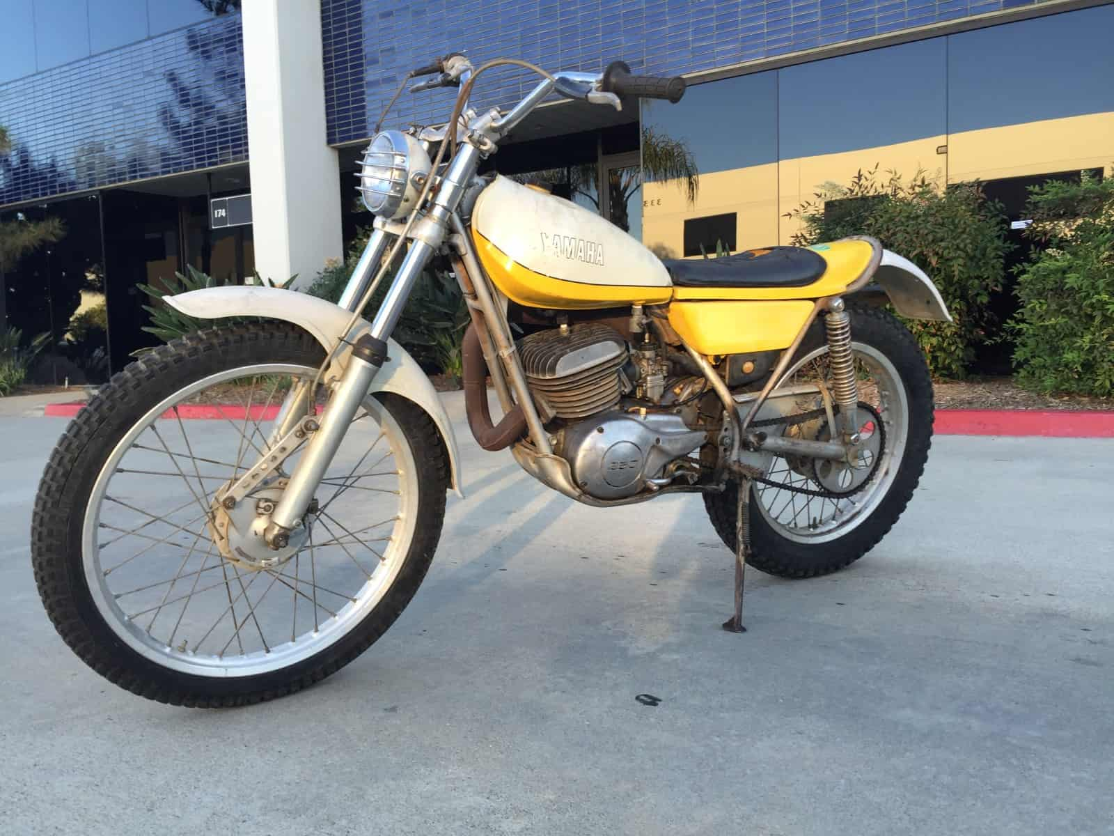 Yamaha 1974 Ty 250 Trials Bike For Sale Carpy S Cafe Racers