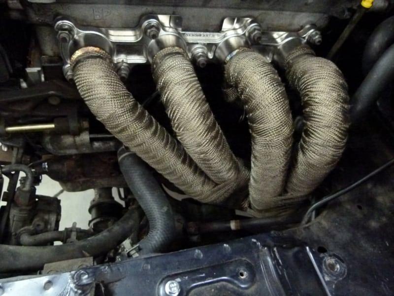 Exhaust Heat Wrap >> Exhaust Wrap Titanium By Dei Carpy S Cafe Racers