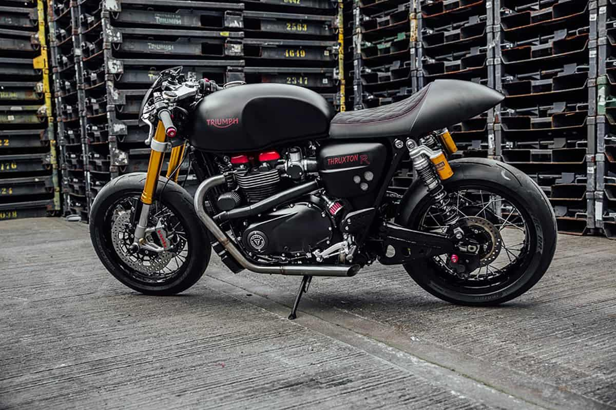 Triumph Thruxton R The Bulldog