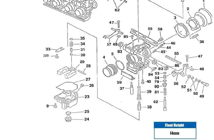 Carburetor 29mm Smooth Bore CR Special Honda CB750 SOHC 1969-1978