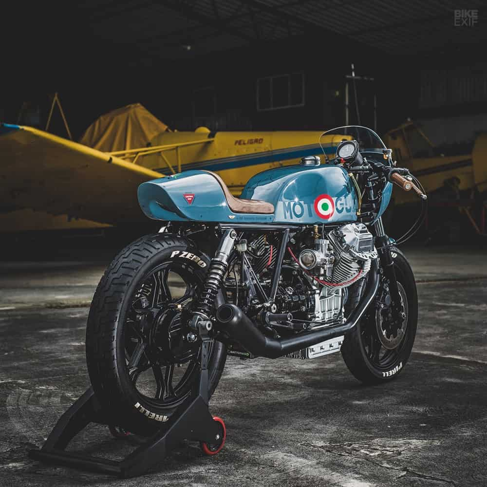 costa rican aeronautical cafe machine is right on the money carpy s cafe racers. Black Bedroom Furniture Sets. Home Design Ideas
