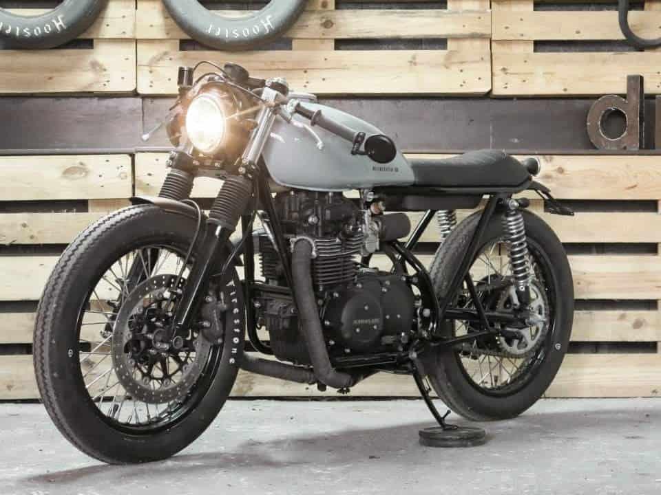 1976 Kawasaki KZ 400 Cafe Racer Motorcycle 2300 Carpys Racers